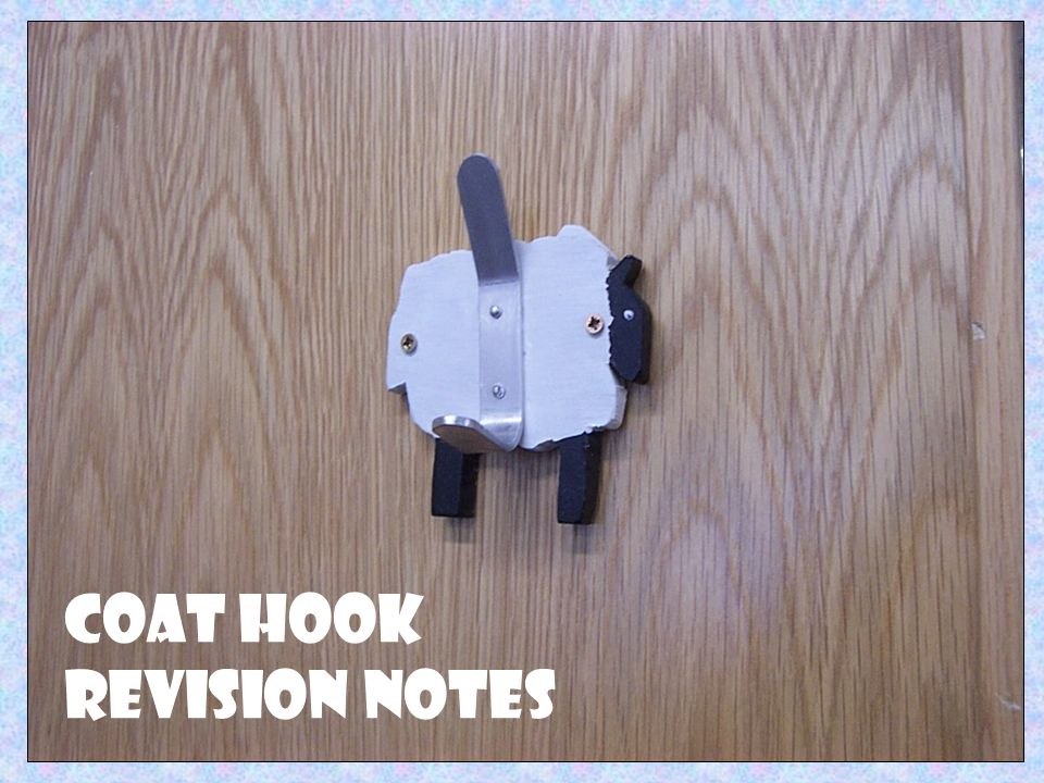 Coat Hook Revision Notes