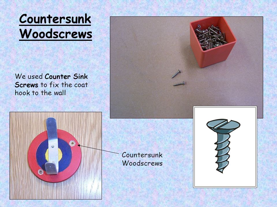 Countersunk Woodscrews
