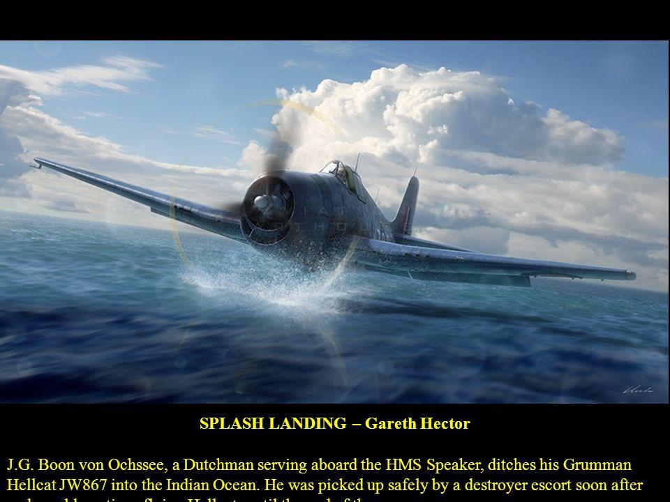 SPLASH LANDING – Gareth Hector