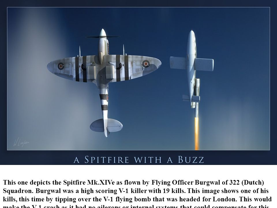 This one depicts the Spitfire Mk