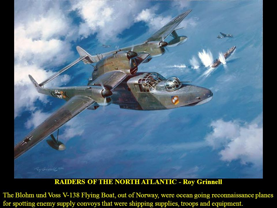 RAIDERS OF THE NORTH ATLANTIC - Roy Grinnell