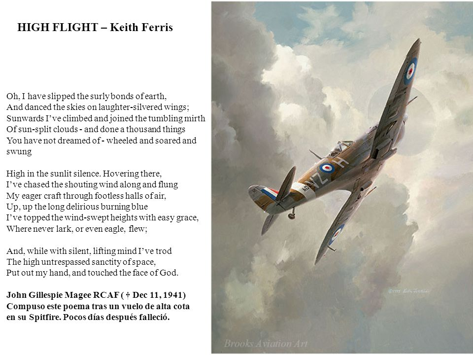 HIGH FLIGHT – Keith Ferris