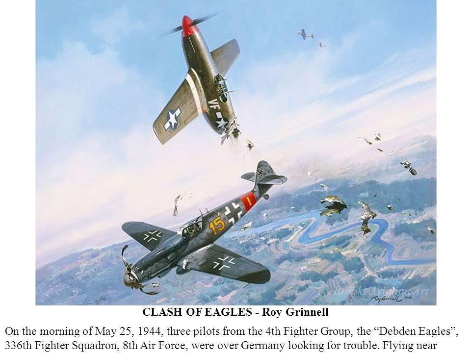 CLASH OF EAGLES - Roy Grinnell