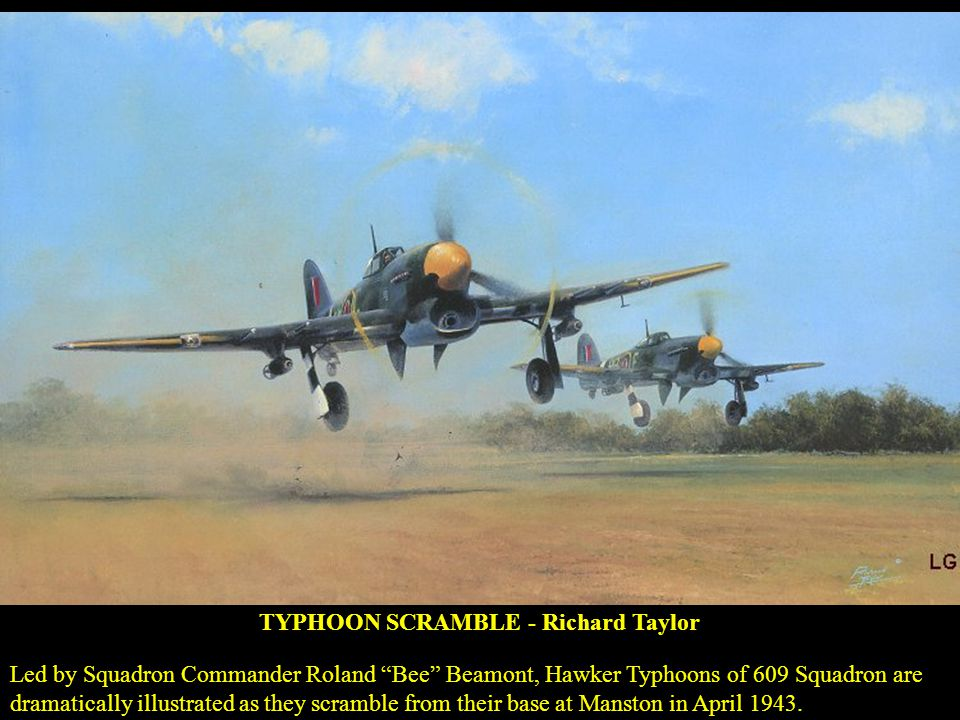 TYPHOON SCRAMBLE - Richard Taylor