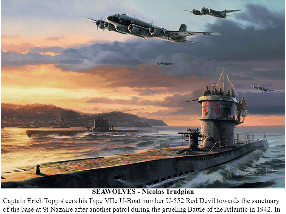 SEAWOLVES - Nicolas Trudgian