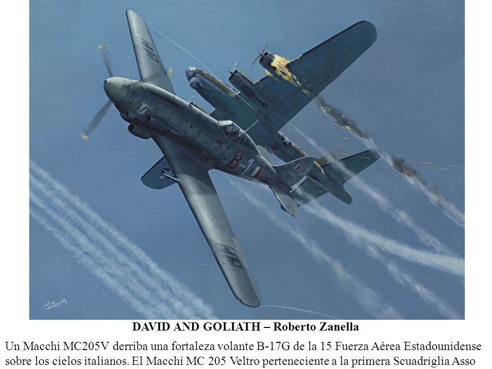 DAVID AND GOLIATH – Roberto Zanella