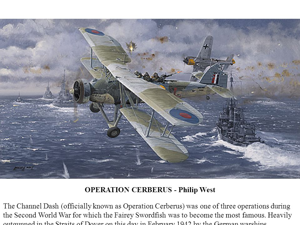 OPERATION CERBERUS - Philip West