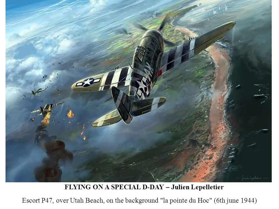 FLYING ON A SPECIAL D-DAY – Julien Lepelletier