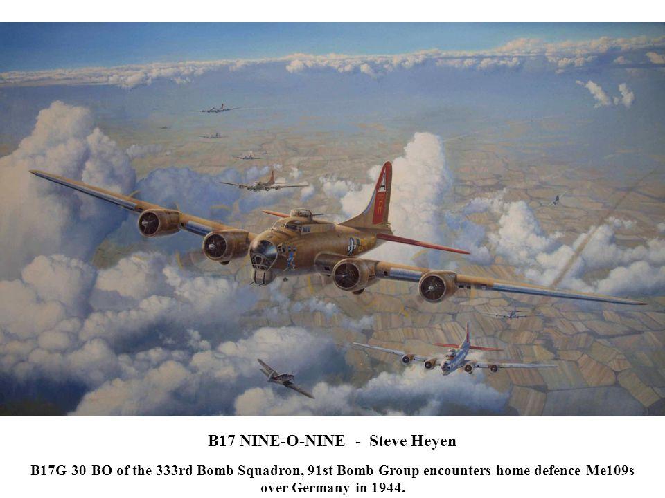 B17 NINE-O-NINE - Steve Heyen