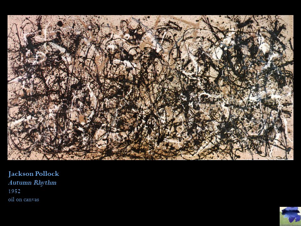 Jackson Pollock Autumn Rhythm 1952 oil on canvas