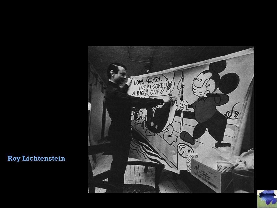 Roy Lichtenstein Slide concept by William V. Ganis, PhD