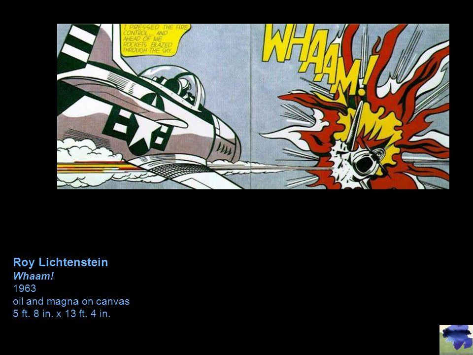 Roy Lichtenstein Whaam! 1963