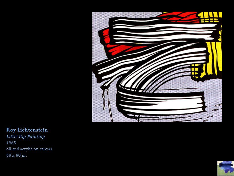 Roy Lichtenstein Little Big Painting 1965