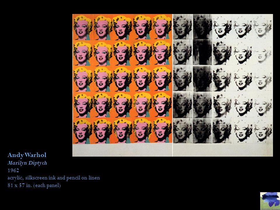 Andy Warhol Marilyn Diptych 1962