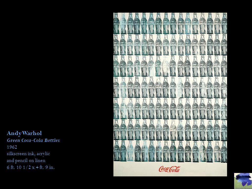 Andy Warhol Green Coca-Cola Bottles 1962