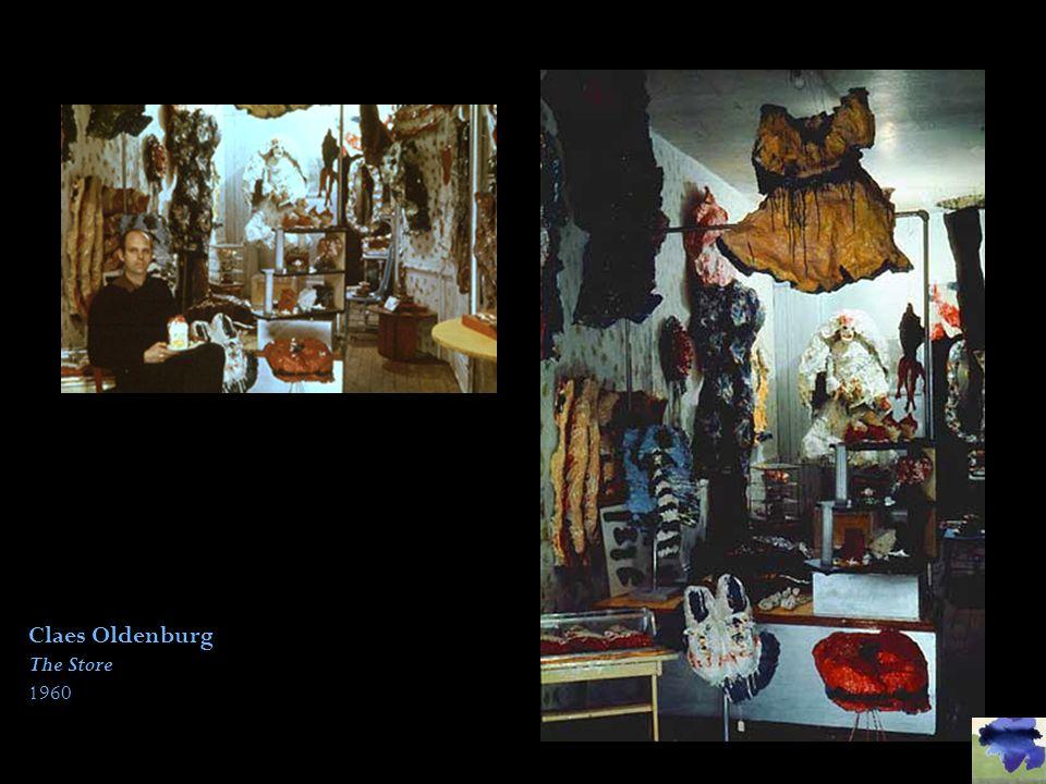 Claes Oldenburg The Store 1960