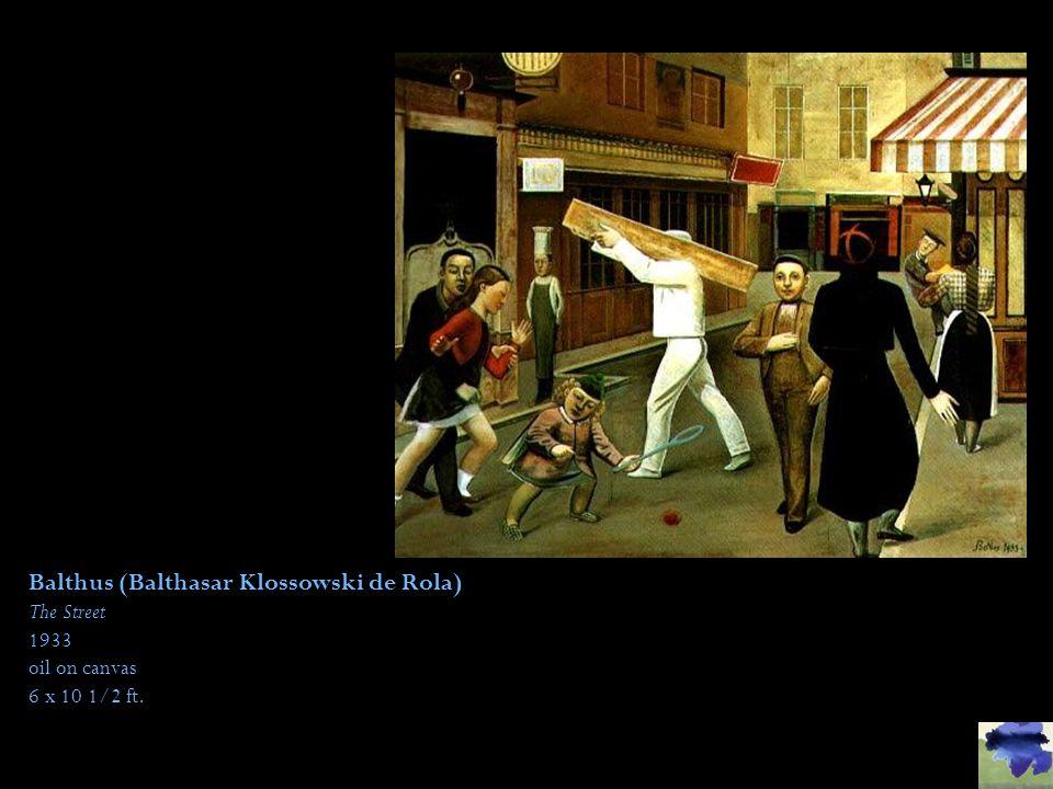 Balthus (Balthasar Klossowski de Rola)
