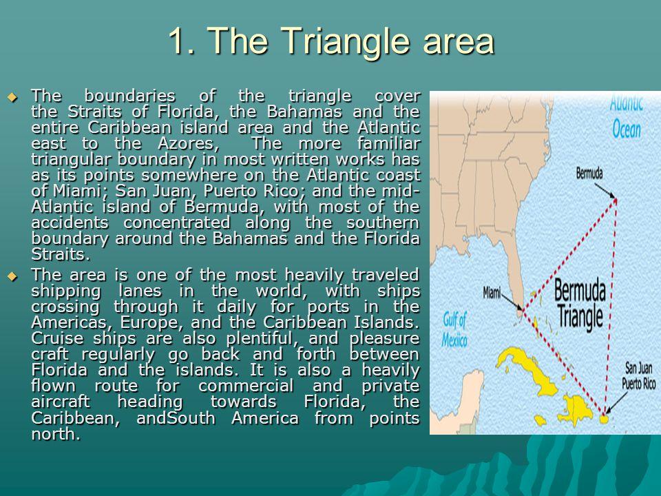 1. The Triangle area