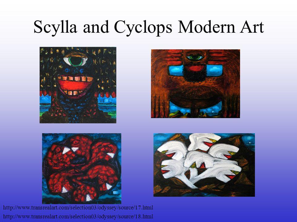 Scylla and Cyclops Modern Art