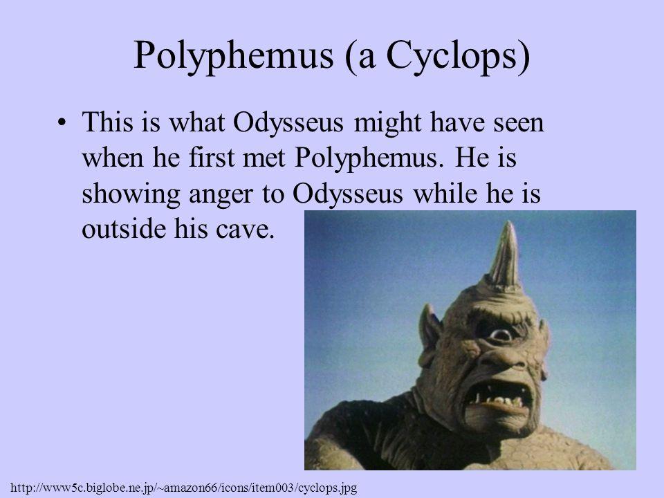 Polyphemus (a Cyclops)