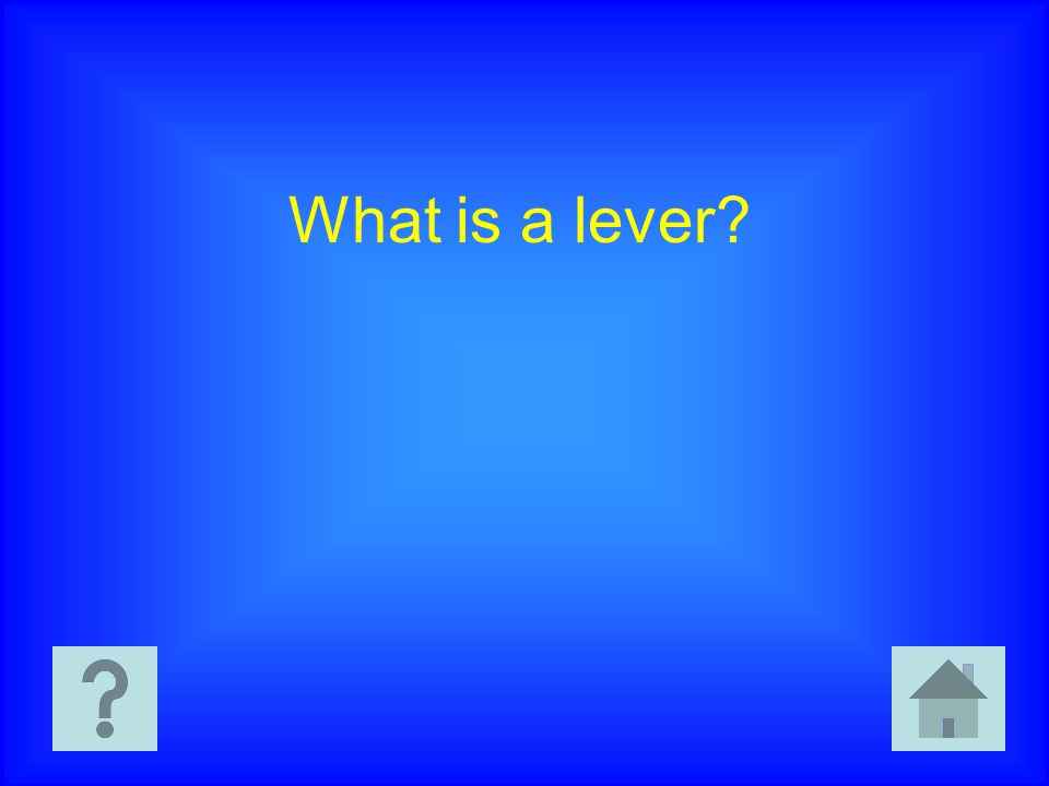 What is a lever