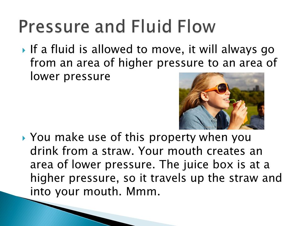 Pressure and Fluid Flow