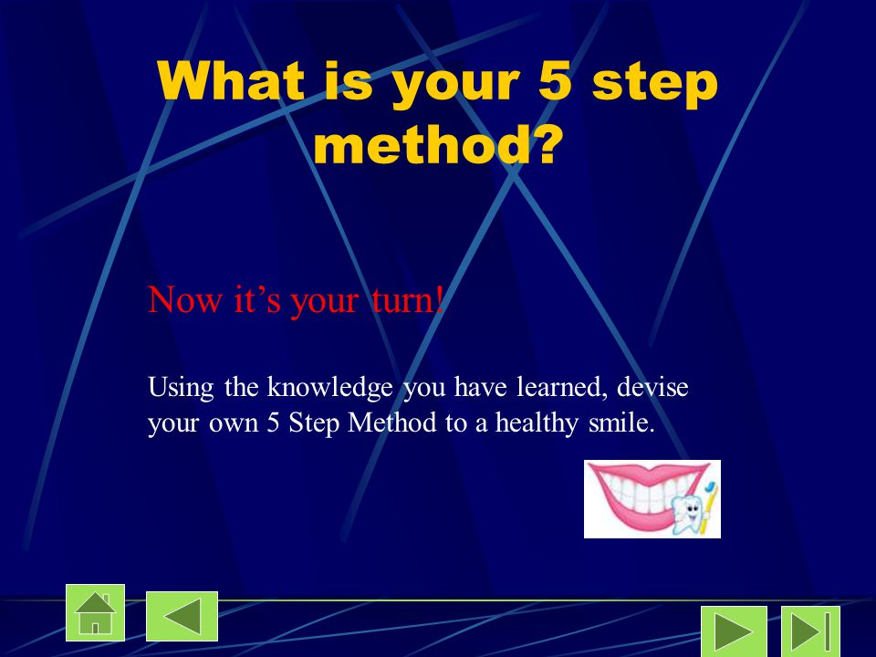 What is your 5 step method