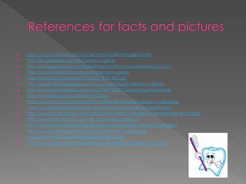 References for facts and pictures