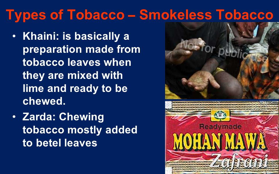 Ways to help people stop using smokeless tobacco (including chewing tobacco, snuff and snus)