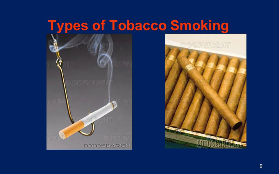 Types of Tobacco Smoking