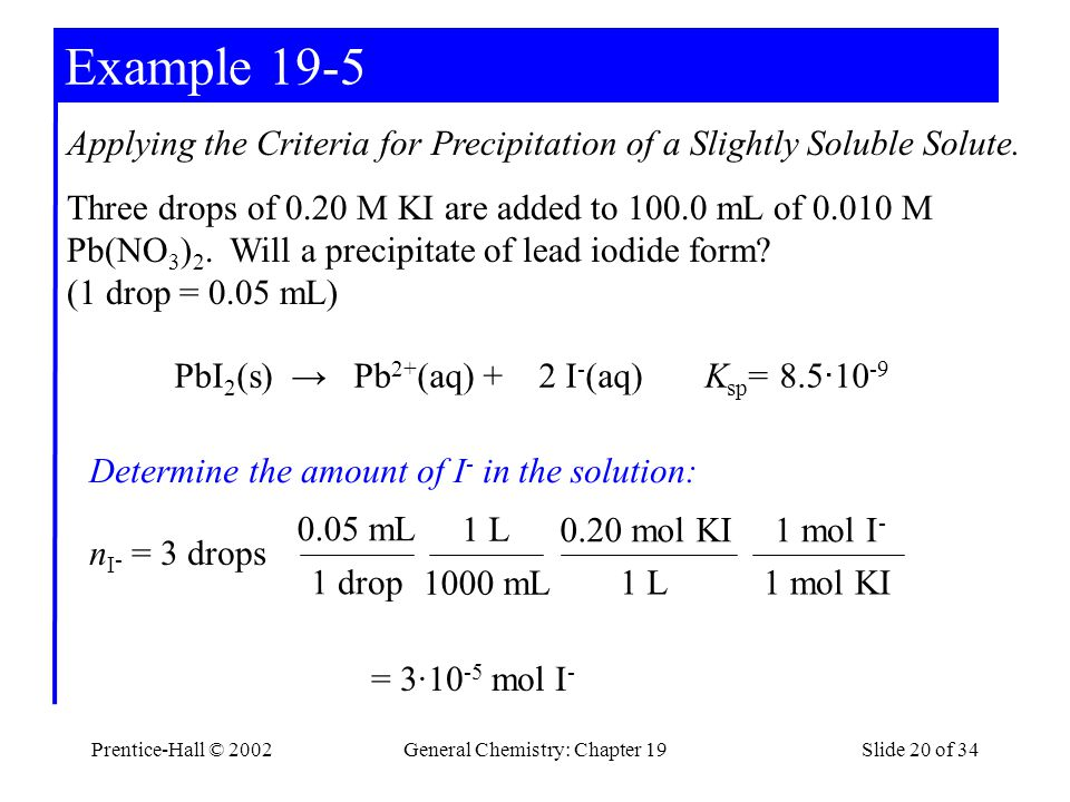 General Chemistry: Chapter 19
