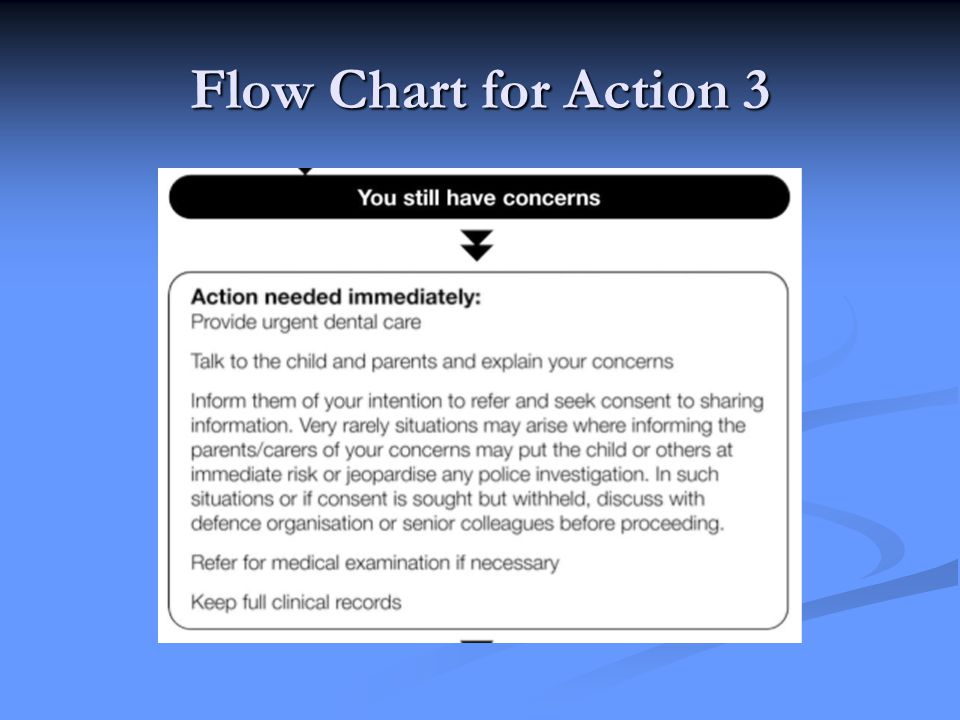 Flow Chart for Action 3
