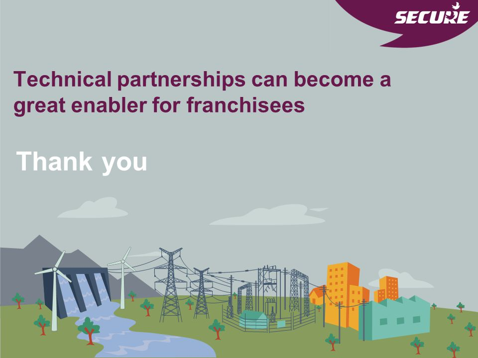 Technical partnerships can become a great enabler for franchisees