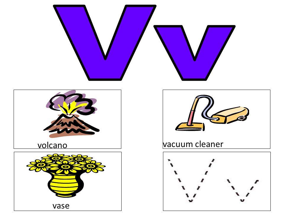 Vv volcano vacuum cleaner vase