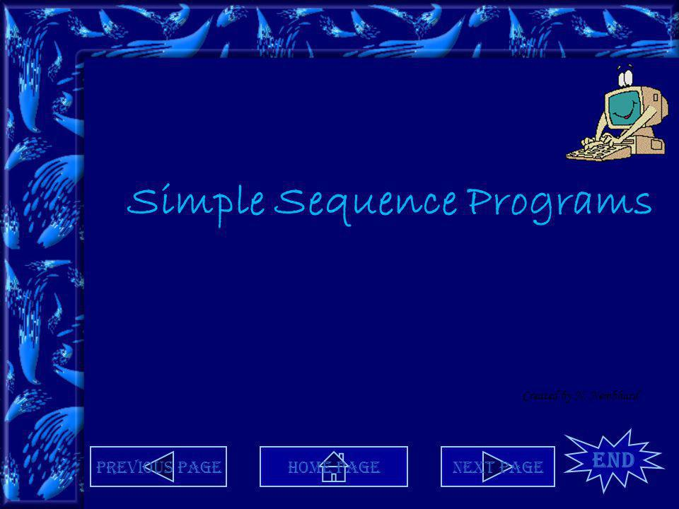 Simple Sequence Programs