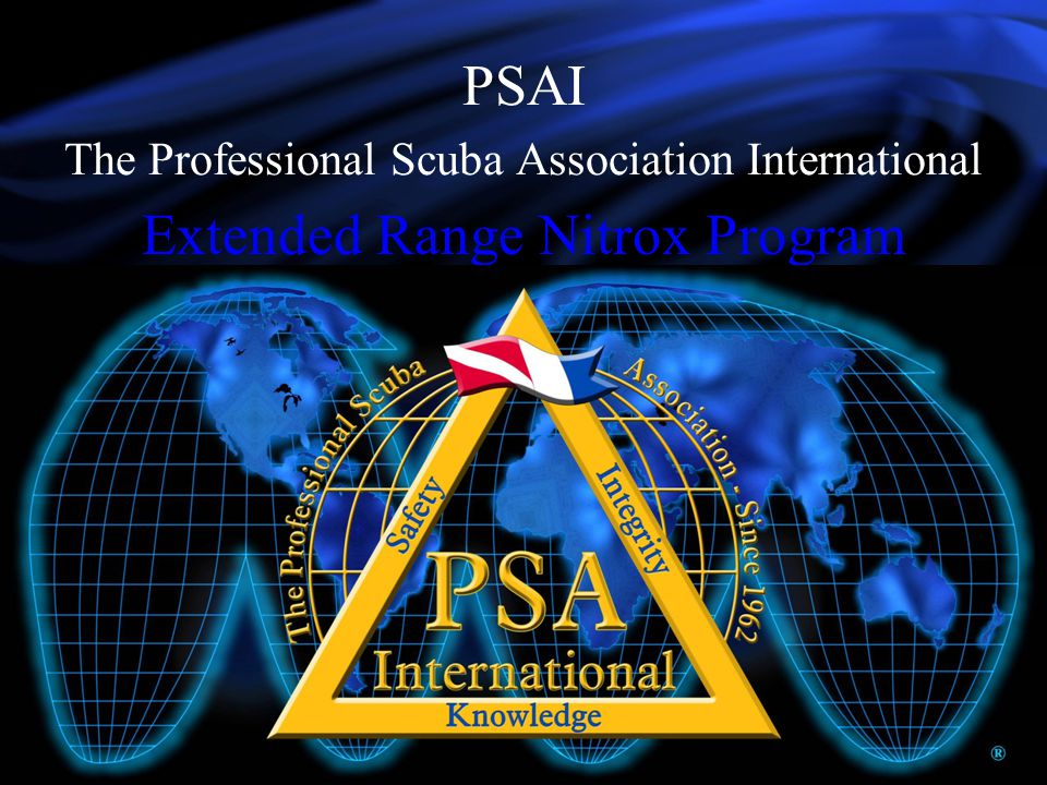 PSAI The Professional Scuba Association International