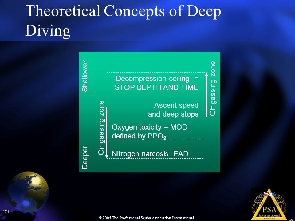 Theoretical Concepts of Deep Diving