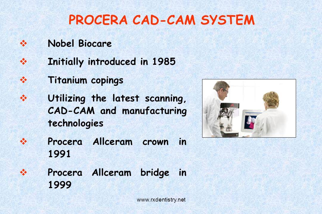 PROCERA CAD-CAM SYSTEM