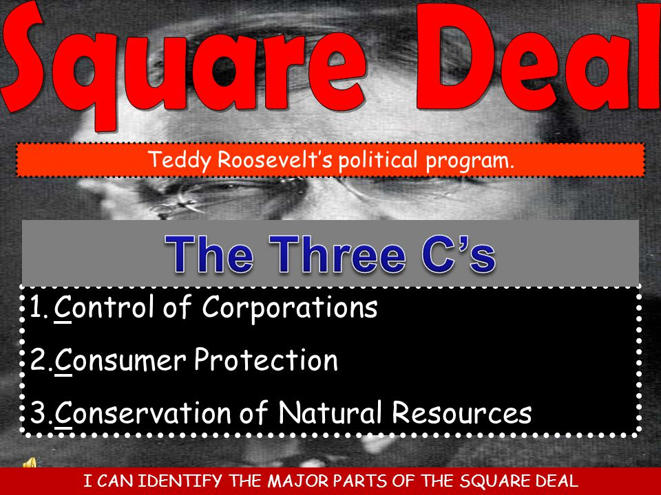 The Three C's Control of Corporations Consumer Protection
