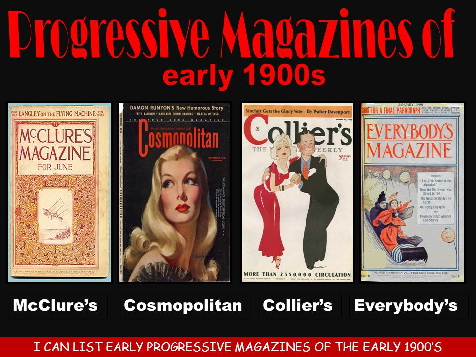 Progressive Magazines of