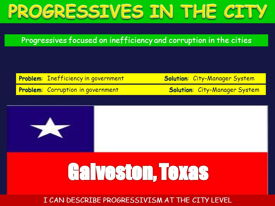 PROGRESSIVES IN THE CITY