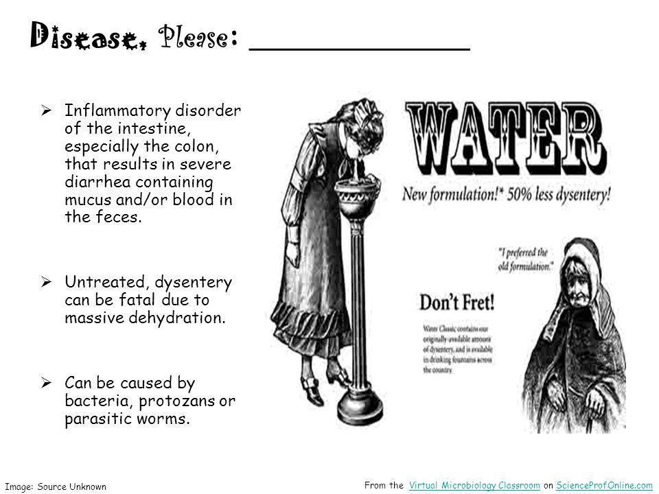 Disease, Please: ________________
