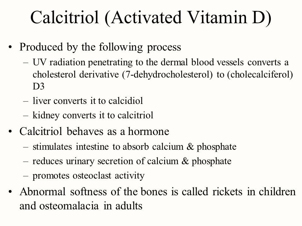 Calcitriol (Activated Vitamin D)
