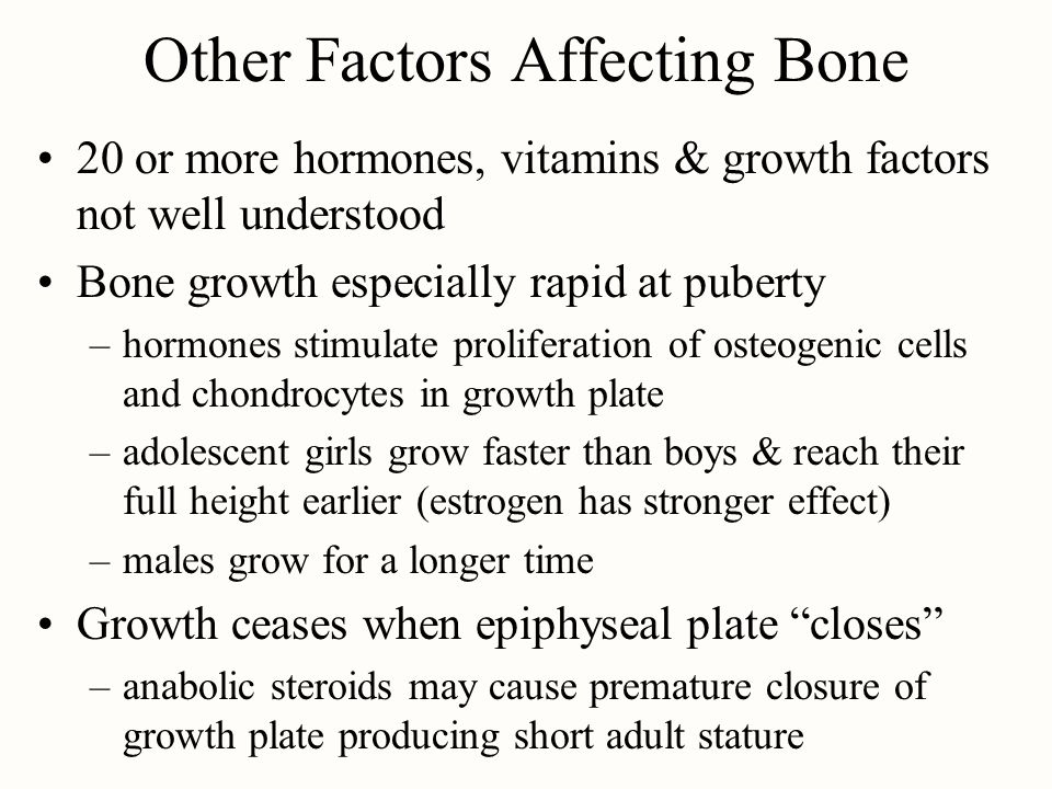Other Factors Affecting Bone