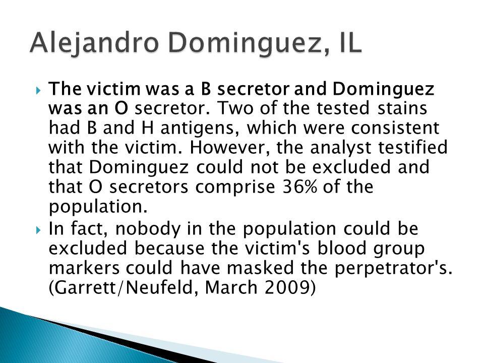 Alejandro Dominguez, IL