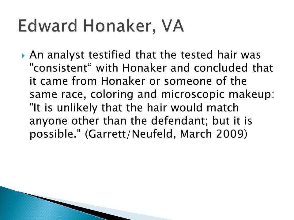 Edward Honaker, VA