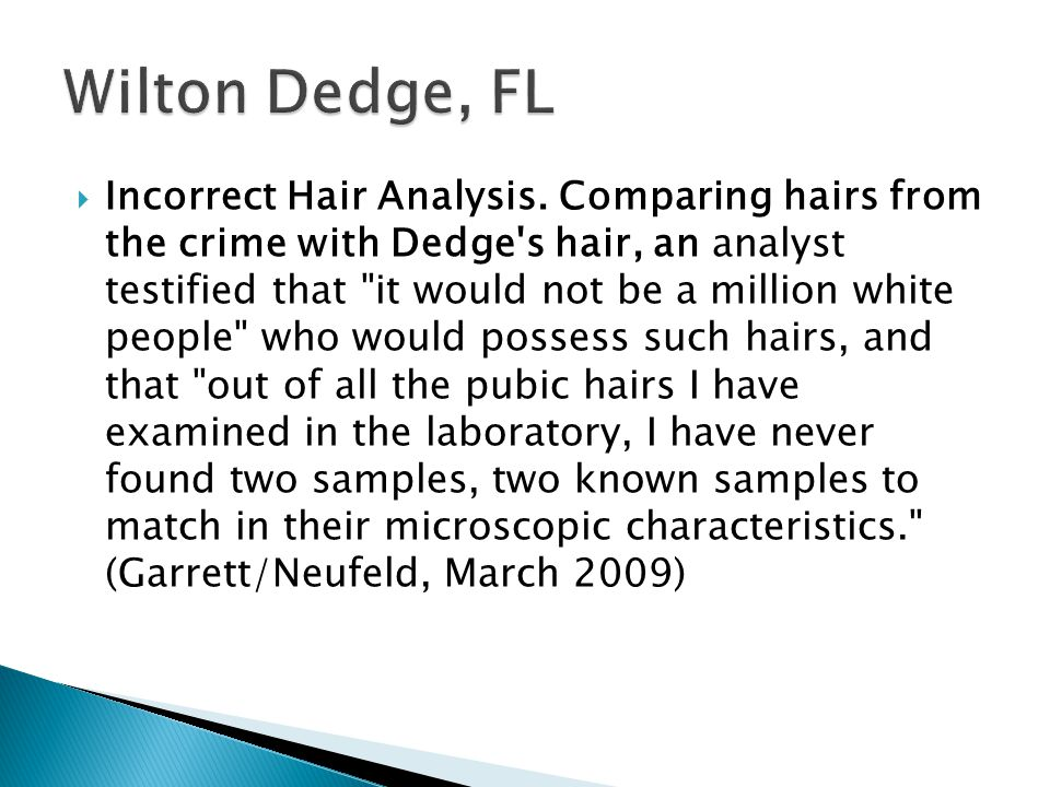 Wilton Dedge, FL