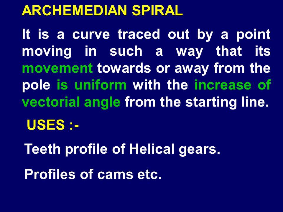 ARCHEMEDIAN SPIRAL