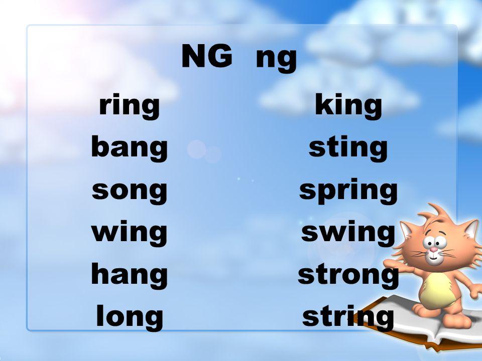 NG ng ring bang song wing hang long