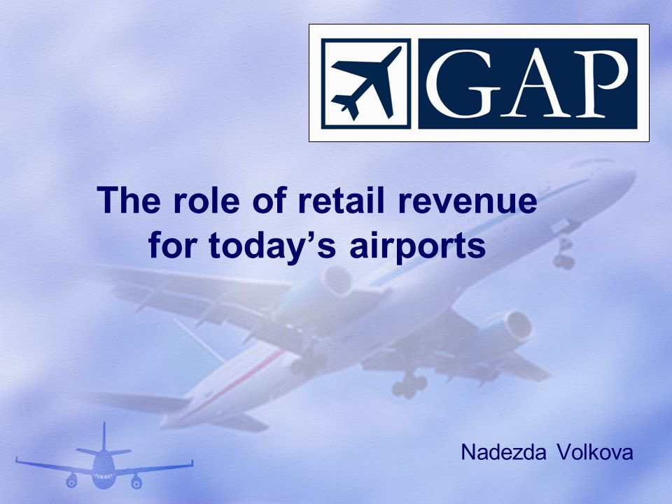The role of retail revenue for today's airports